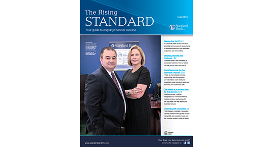 Standard Bank Fall 2019 Cover